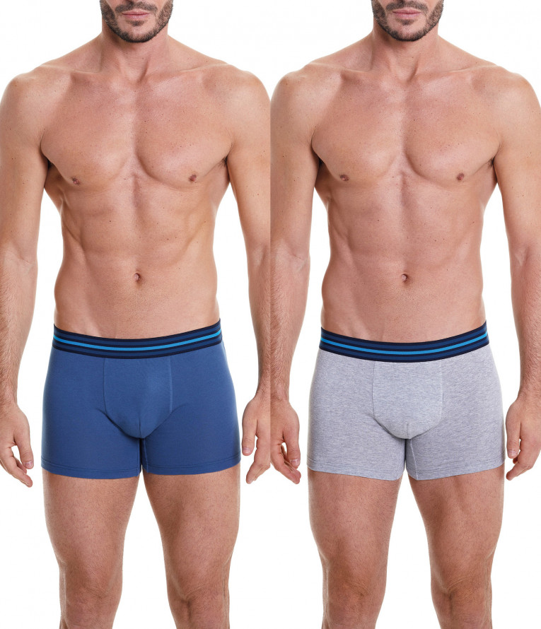 CLOSE FITTING BOXERS/ TWO-PACK