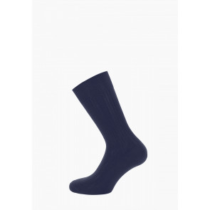 Cotton Lisle Short Ribbed Socks