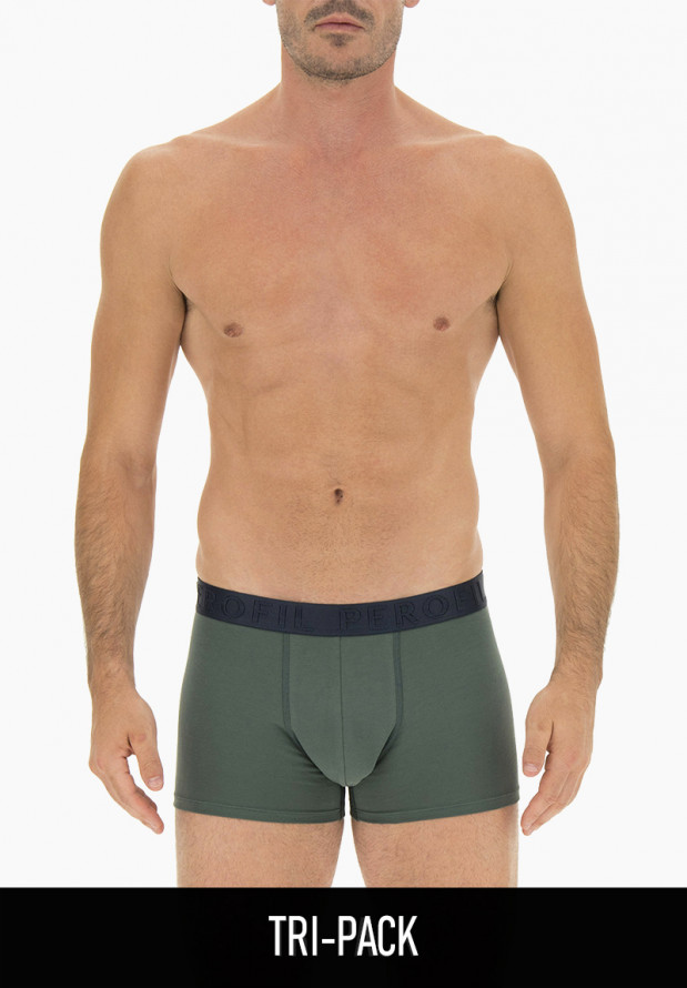 Tri-Pack Boxer for Men in stretch cotton