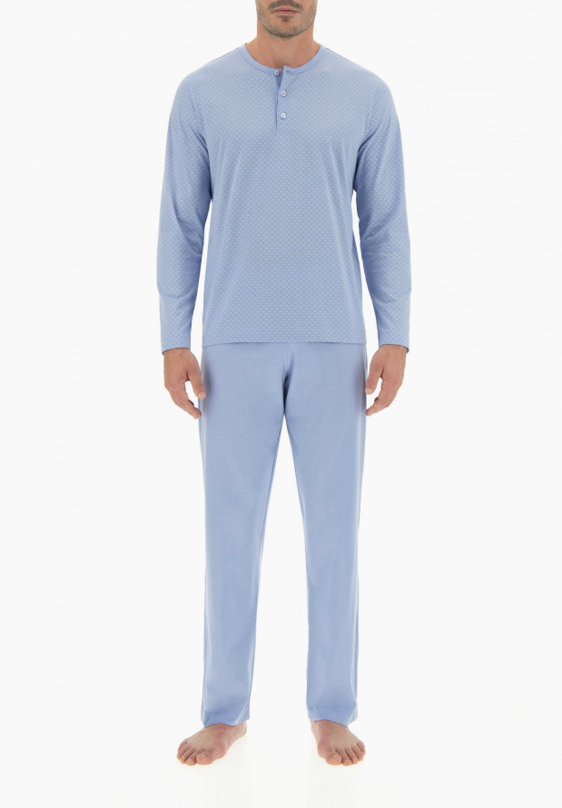 Long Cotton Pajamas for Man